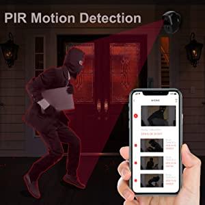 PIR MOTION DETECTION ALERTS