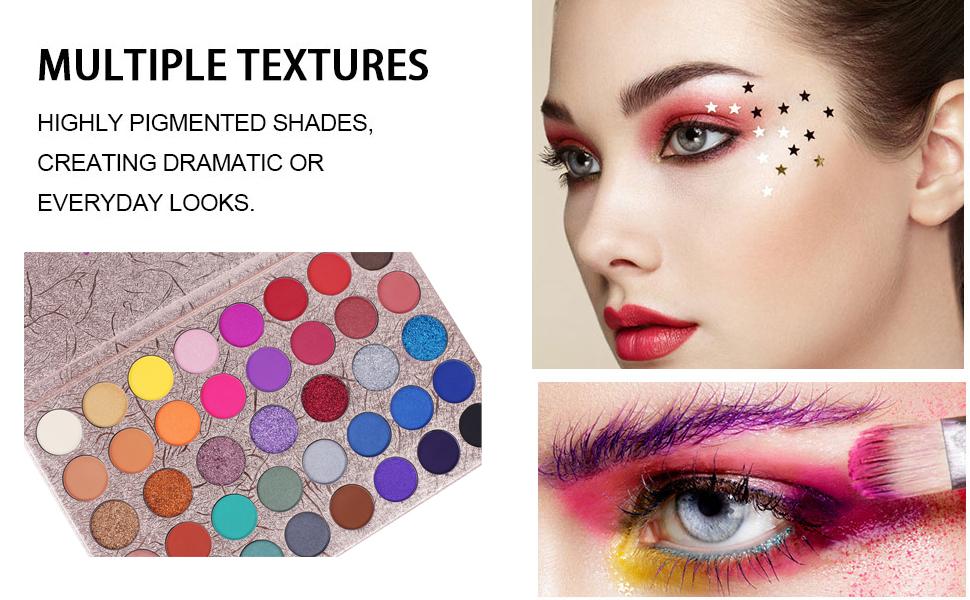 Top Beauty Makeup Eyeshadow Palette