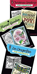 Adult Coloring Books Collection