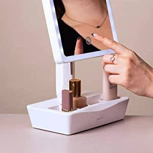 Fancii gala makeup mirror with organizer