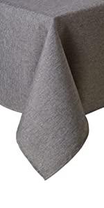 black tablecloth, black formal tablecloth, black table cloth, gray tablecloth, gray table cloth