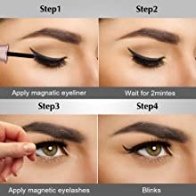 natural magnetic eyelashes