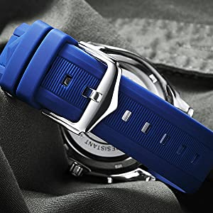 Silicone Watch Band Strap Compatible with Garmin 18mm 20mm 26mm
