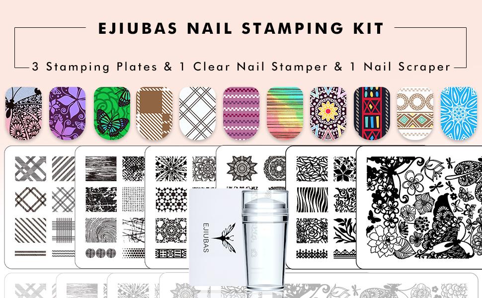 Nail stamping kit