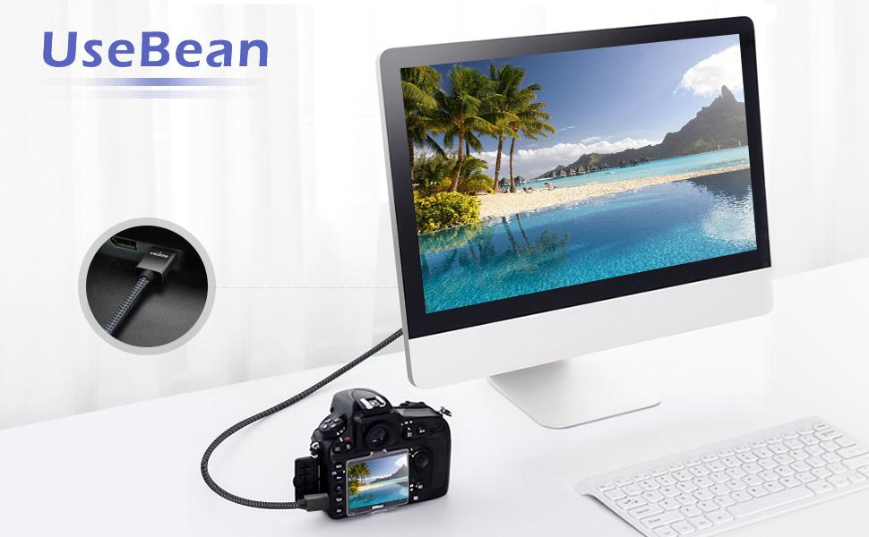 UseBean HDMI to Mini HDMI Cable
