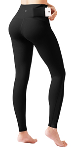 yoga capris leggings with back pocket