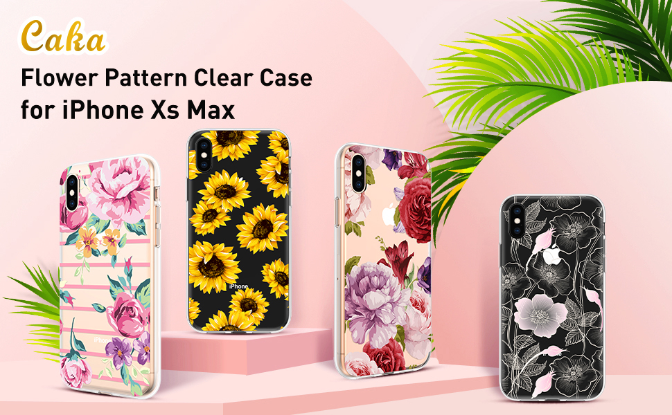 iphone xs max floral case