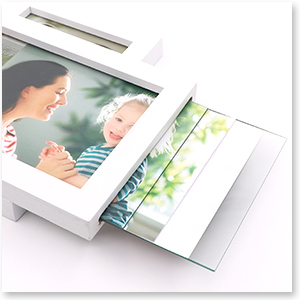 Adjustable Firm Hooks Metal hinge sturdy rugged double picture frame wall desktop