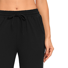 drawstring, Cropped, elastic waist