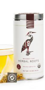 herbal roots decaffeinated tea