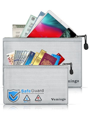 fireproof money pouch