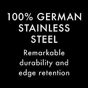 100% German stainless steel