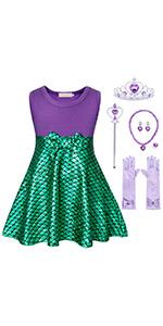 B07T1G8317 mermaid cosplay costume dress outfits sleepwear