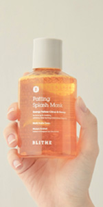 patting splash mask energy citrus & honey