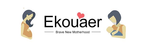 Ekouaer Maternity Nursing Pajamas