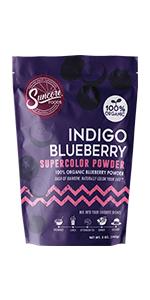 Suncore Foods Indigo Blueberry Supercolor Powder