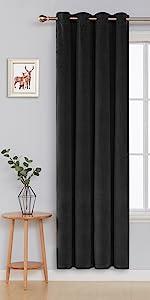 luxury velvet curtains for bedroom