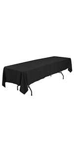 6FT /60 × 126 Inches Rectangular Table Cloth