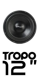 CT Sounds Tropo 12 inch Car Audio subwoofer