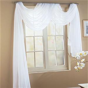 white home curtains