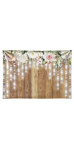 Wedding Retro Wood Floor Photography Background