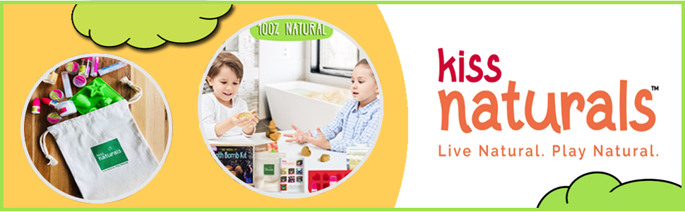 DIY kit for kids crafts science kit by Kiss Naturals