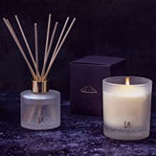 candles, reed diffusers