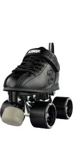 zoom roller skates speed quad classic style rollerskate indoor outdoor boys men roller derby