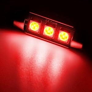 Red Interior LED