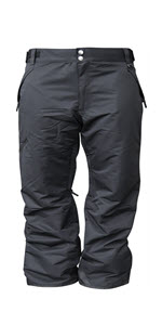 Snow Country Outerwear Mens Big and Tall Snow Ski Skiing Insulated Technical Pants