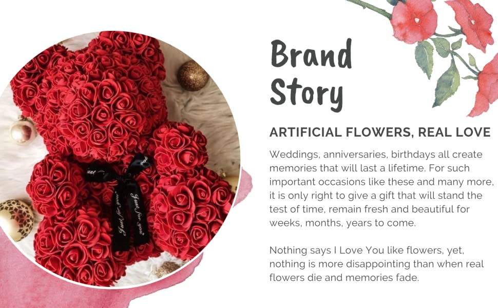 brand rose bear