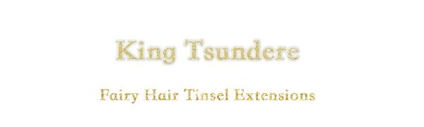 Fairy Hair Tinsel Extensions