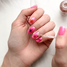 3d Nail Art Mini Real Natural pressed flower