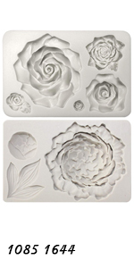 Large Flowers Assortment Molds