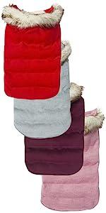 dog padded cotton jacket