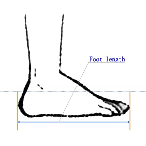 jazz shoes size chart