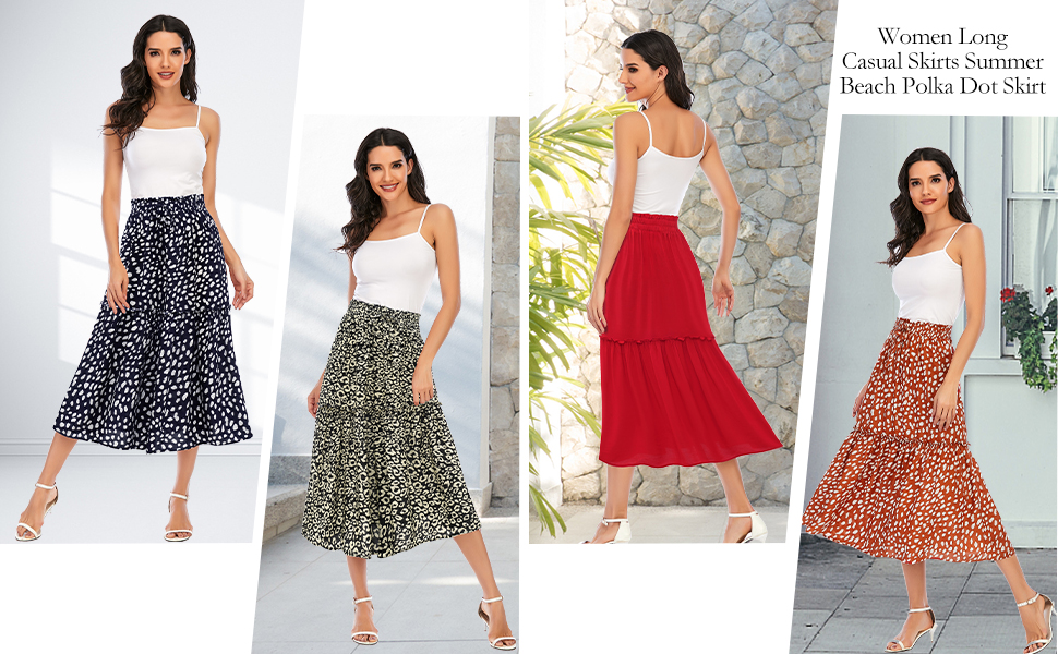 women midi maxi long skirt summer skirts for women summer skirt midi length