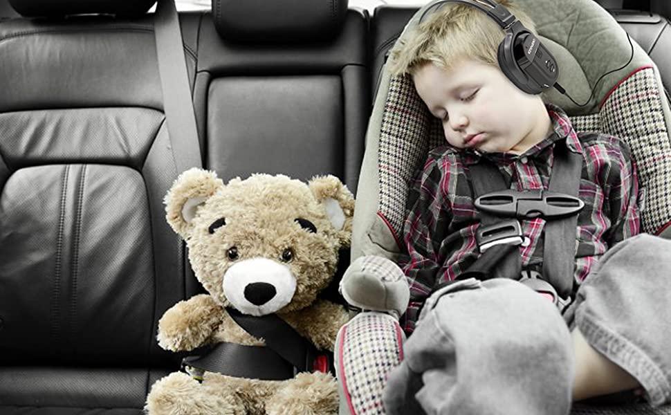 Comfortable Headphones Infrared