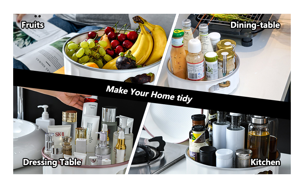 Lazy Susan Turntable Make Your Home Tidy