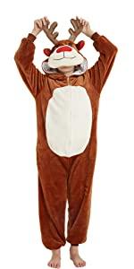 Reindeer Onesie for Kids