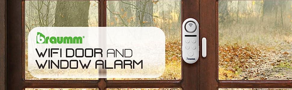 window and door alarm home security