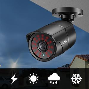 8MP FHD Outdoor Indoor Camera