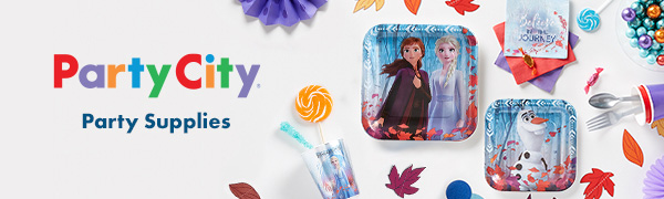 Popular movie character birthday school party kits supplies anna elsa olaf kristoff frozen princess