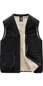men fleece vest