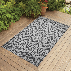 outdoor 4x6 5x7 6x9 8x10 patio jute rug carpet indoor modern entry hallway seagrass navy brown gray
