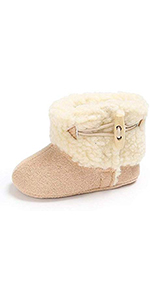 Infant Boy Girl Crib Shoes Snow Boots