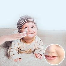 baby dry wipes