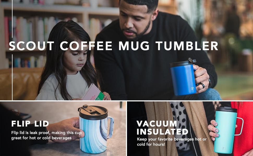 Simple Modern Scout Coffee Mug - Vacuum Insulated Tumbler