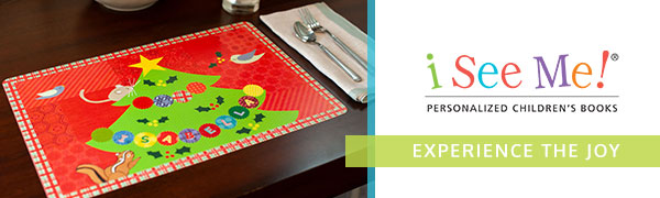 Personalized Place Mat for Kids Name