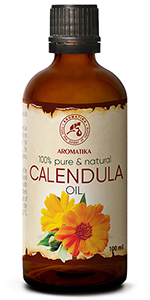Calendula Oil 3.4oz 100ml - Calendula Officinalis Flower Extract - 100% Pure & Natural
